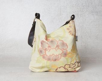 Small hobo bag, canvas bag, hobo bag pattern, canvas handbag, canvas hobo bag, evening bag, summer handbag, womens handbags