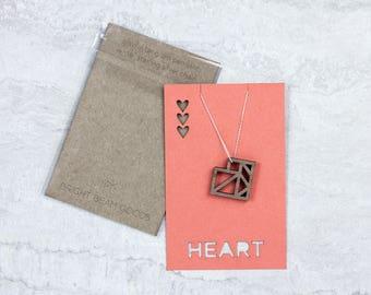 Heart Tangram Pendant