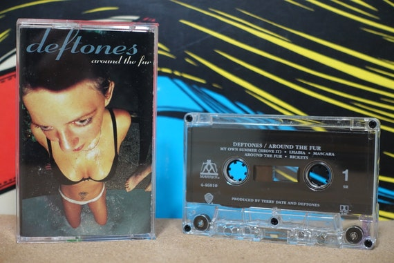 Around The Fur by Deftones Vintage Cassette Tape