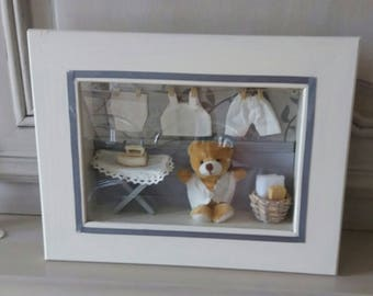 baby room window frame