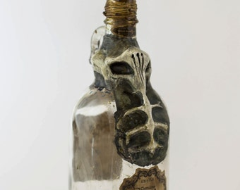 Deep One Lovecraftian Apothecary Poison Bottle