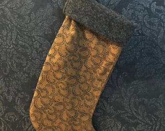 Modern Christmas stocking