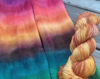 Autumn Rainbow Fall Wt Sock set