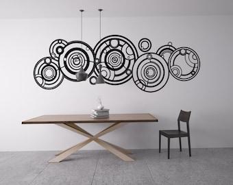 Gallifreyan Dr. Who  Wall Graphic (Matte interior vinyl)