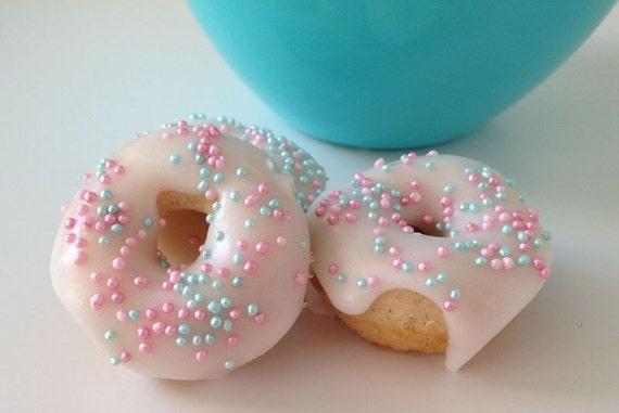 Vanilla Baby Sprinkles mini donuts