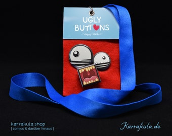 "Button-Set ""Happy Stalker"""