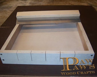 Wooden Soap Making Mold 24 bars Metal Cutter