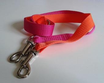 Dog leash coupler