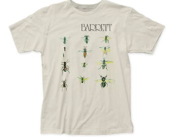 Syd Barrett Men's Soft Fitted 30/1 Cotton Tee (SB05) Vintage White