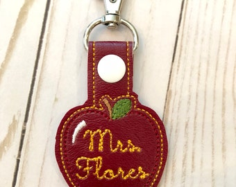 Personalized Apple Key Fob