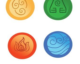 Button Set 2: Avatar
