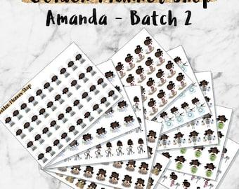 Amanda Grab Bag - Batch 2 - Planner Stickers