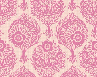 Anna Maria Horner Innocent Crush Woodcut perfect pink Free Spirit fabric FQ or more
