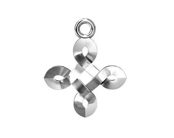 Charm Celtic style Silver 925