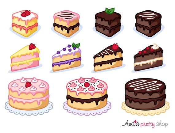 cake clipart piece of cake clipart bakery clipart pastry clipart rh etsystudio com cake clipart black and white free cake clip art download