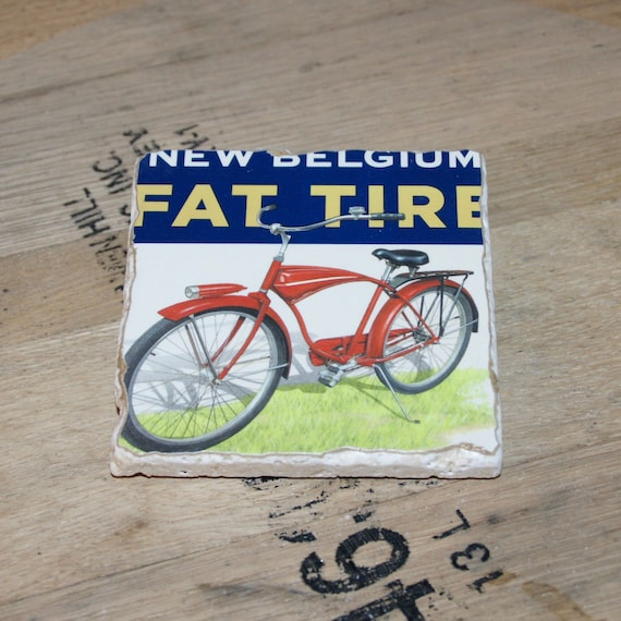 UPcycled Coaster - New Belgium - Fat Tire