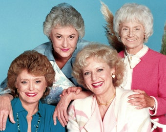 Golden Girls 8 x 10 / 8x10 GLOSSY Photo Picture