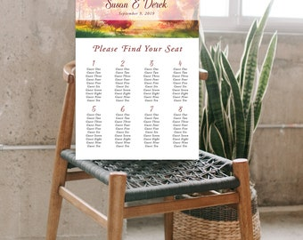 Seating Chart - Falling for Love (Style 13562)