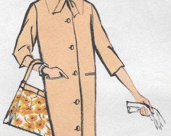 Bust 34-1958 Misses' Coat Vogue 9449 Size 14 Hip 36
