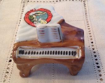 Vintage Mini Piano Niagara Falls Souvenir