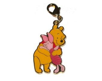 Japan Disney Winnie the Pooh Metal Charm