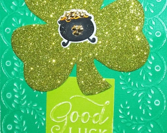 St. Patrick's Day Good Luck Card