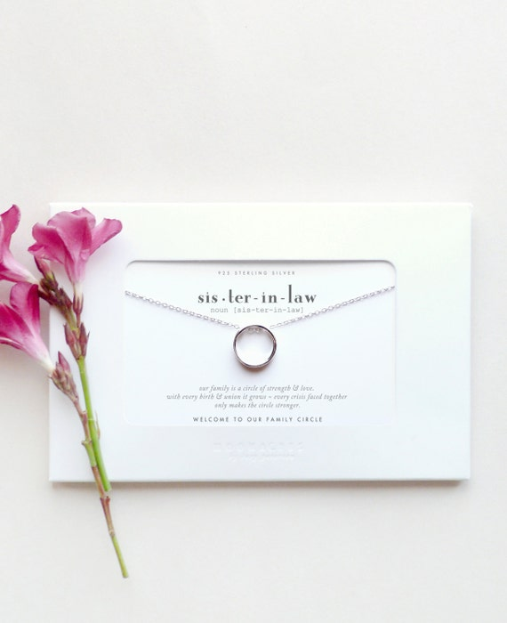 Sister In Law Wedding Gift: Sister In Law Sister-in-Law Bride Wedding Gift Welcome To