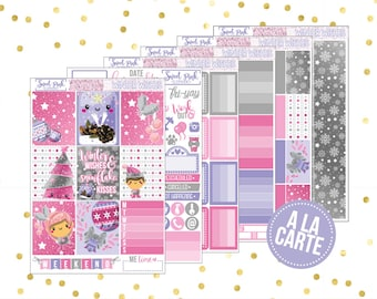 Winter Wishes // A La Carte [ALC008] -Stickers for the EC Happy Planner Life planner