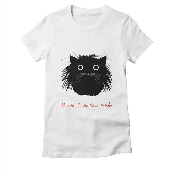 Human, I Am Your Master - Womens / Girls - T-shirt / Tee - White / Cancun / Natural - Womens Apparel