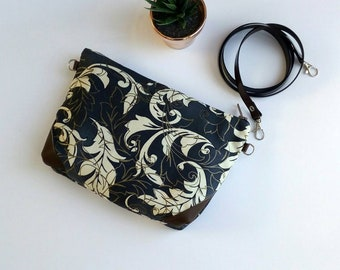 Woman bag, Crossbody purse, Wristlet bag, Crossbody bags, Wallet passport, handbags, blue bags, handle bag, gifts for her, Messenger bag