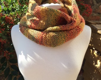 Autumn / Fall neck warmer