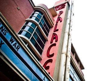 Fort Worth Texas - Neon Sign - Sundance Square - Retro - AMC Palace
