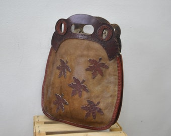 Vintage Handmade Leather Handbag.....(164)