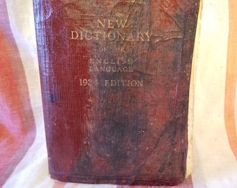 New Dictionary of the English Language 1924 Edition
