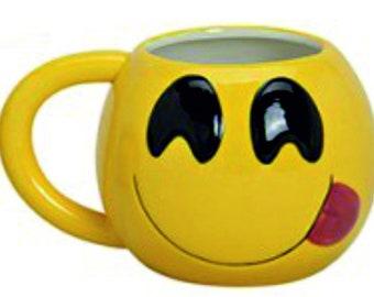 Ceramic cup emoticon, 610 ML