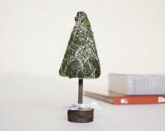 Handmade Christmas tree  Table top  Christmas tree Christmas gift Christmas party decor Miniature Christmas tree