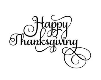 Happy Thanksgiving SVG