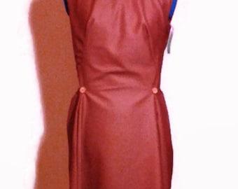 Women's  dress,vintage pattern,Red Dress ,classic Designer Dress,womens vintage style dress, handmade , red dress , READY to SHIP