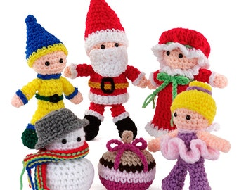 Crochet Happy Holidays Amigurumi pattern pdf