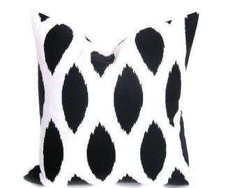 15% Off Sale Black Pillow Cover - Black Pillow - Pillow Case - Black and White - Decorative Pillow - Pillows - Black Throw pillow - Home Dec