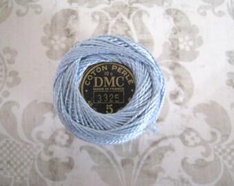 DMC Pearl Cotton Balls Size 5 - 3325 Light Baby Blue