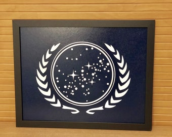 United Federation of Planets - Laser Cut