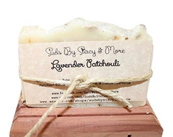 Lavender Patchouli - Homemade Cold Process Soap