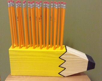 Pencil Shaped Pencil Holder