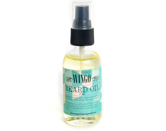 Beard and hair oil 2oz.