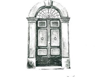 Roman Door  Print  sc 1 st  Etsy & Roman door | Etsy