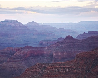 Grand Canyon at Sunset - Color Photo Print - Fine Art Photography (GC04)