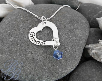 Personalized Jewelry - Hand Stamped Jewelry - Mother's Necklace
