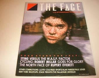 THE FACE #63~July 1985~UK Pop Culture Magazine~Alan Parker~Rupert Everett~Sting