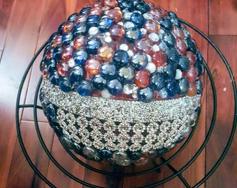 Decorative Bowling Ball: 4th of July